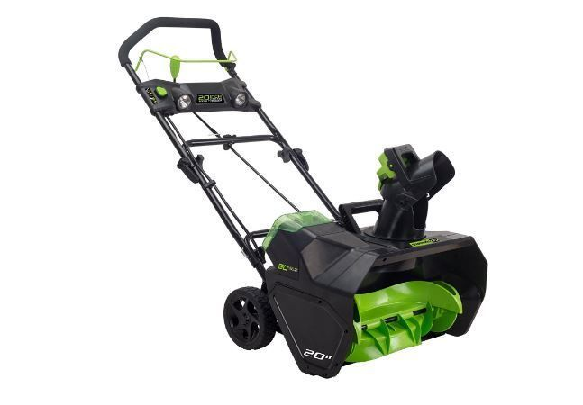 Greenworks Snow Thrower Snow Blower Cordless Pro 2601302 80V 20-Inch #Greenworks http://egardeningtools.com/product-category/snow-removal/