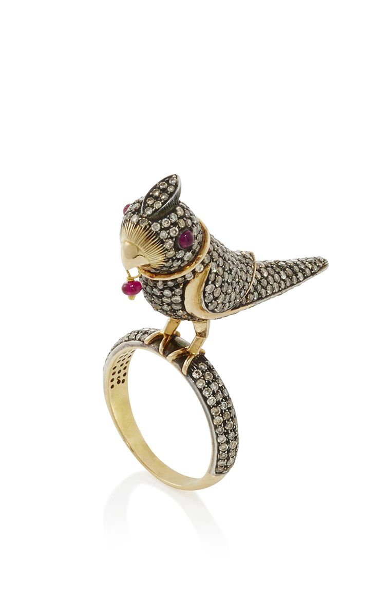 Sanjay Kasliwal Bird Ring - Preorder now on Moda Operandi