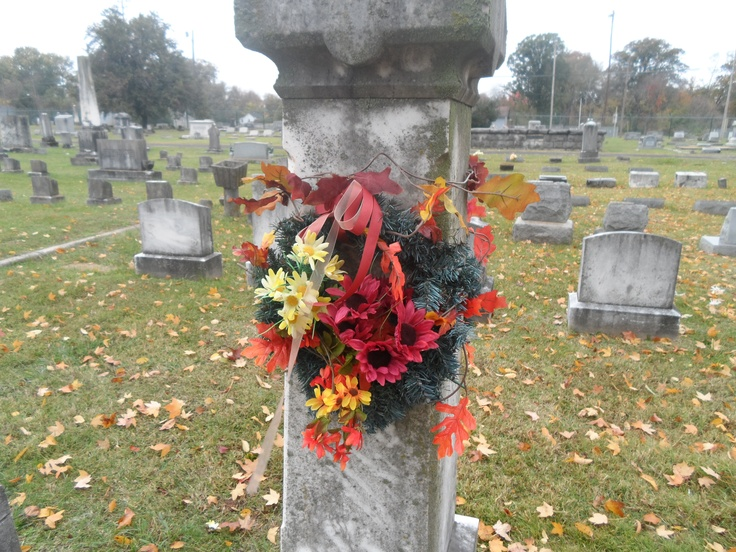 Autumn 2012 White family plot