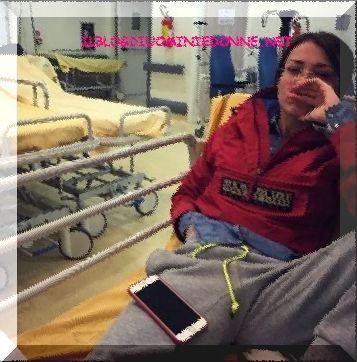 Valentina Rapisarda , fidanzata di Andrea Cerioli in ospedale ecco come mai