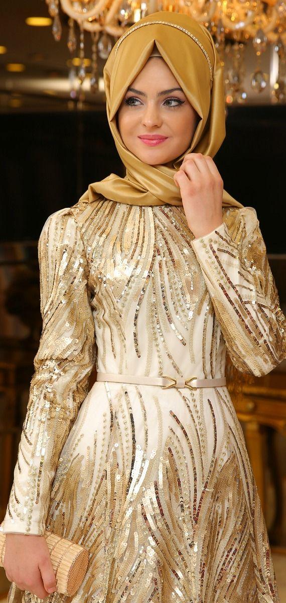 Pınar Şems-Yosun-Abiye-Gold
