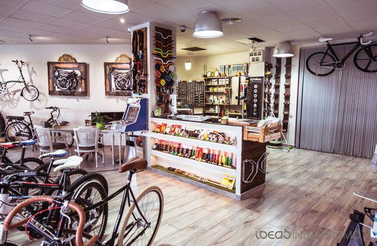 Interiorismo comercial vintage en la tienda de bicicletas - Ideas interiorismo ...