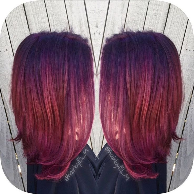 Inspiration Discovered By Efoxx Hair Deep Violet To