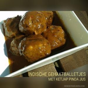 Bekijk de foto van annemieke1985 met als titel Indische gehaktballetjes met ketjap pinda jus...  Lekker als hartig hapje bij de borrel of als bijgerecht bij het avondeten!    (gehakt, knoflook, ketjap, sambal, ei, 5 Chinese spices kruiden, gefrituurde uitjes, pindakaas, tomaten ketchup, snack, borrelhapje, avondeten, maaltijd, vlees) en andere inspirerende plaatjes op Welke.nl.