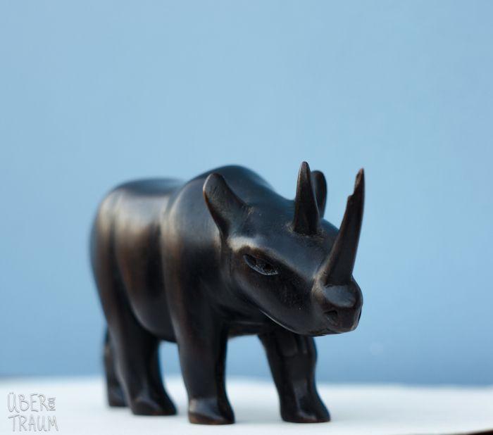 70's African Black Rhinoceros - Über den Traum