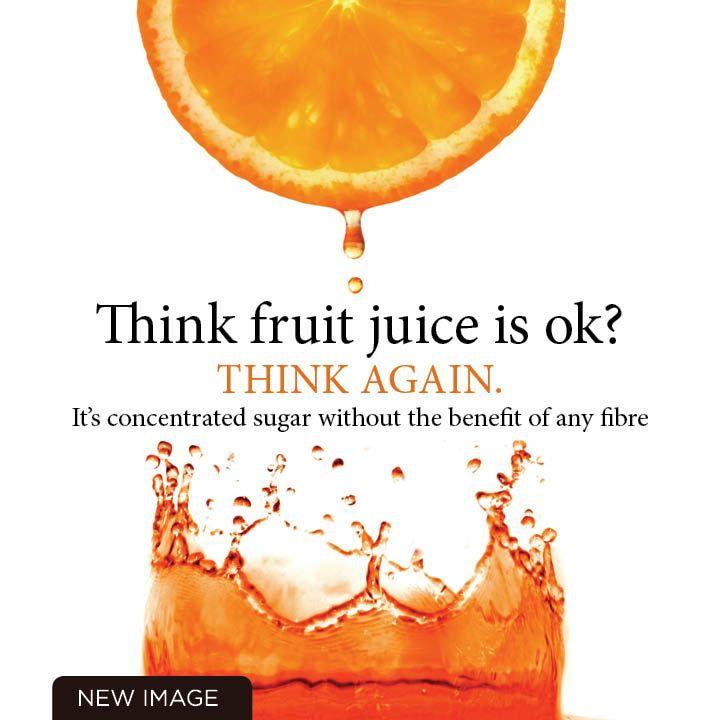 Think fruit juice is OK? Think again....