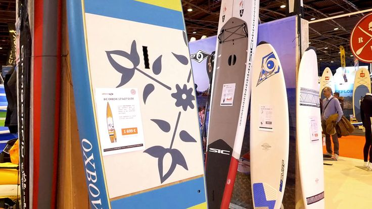 Interview 360° au stand Bic Sport du Nautic 2017 – Stand up paddle passion, le web magazine du sup.