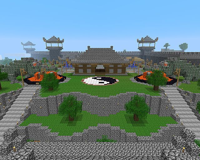 minecraft_oriental castle 62_previewjpg 640512 - Minecraft Japanese Rock Garden