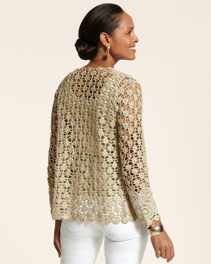 Glam Crochet Cardigan - Chico's