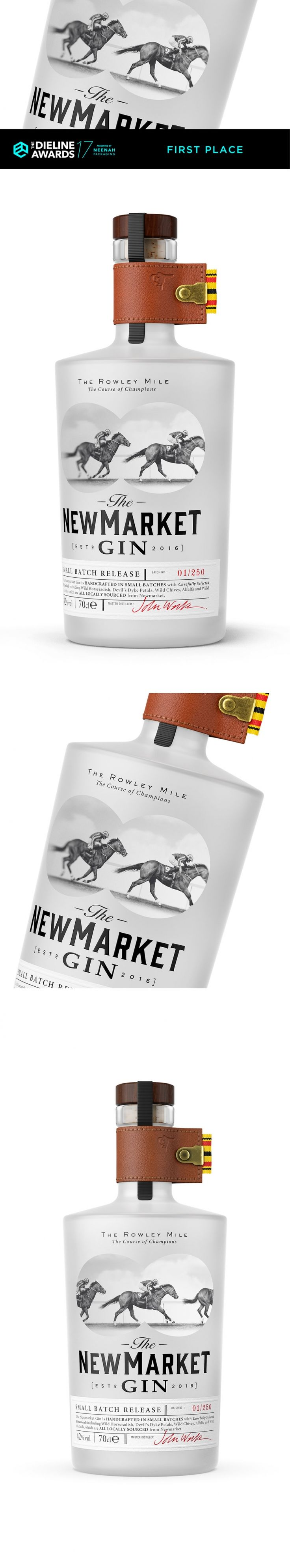 The Dieline Awards 2017: The Newmarket Gin — The Dieline | Packaging & Branding Design & Innovation News