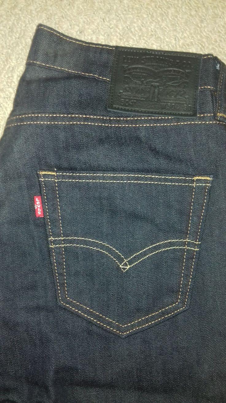 Levis 504 Straight Cut Jeans - 30w 30l - Mens - Dark Blue - Smart | Vêtements, accessoires, Hommes: vêtements, Jeans | eBay!