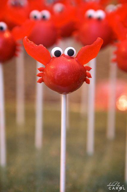Crab Cake Pops by wynk, via Flickr