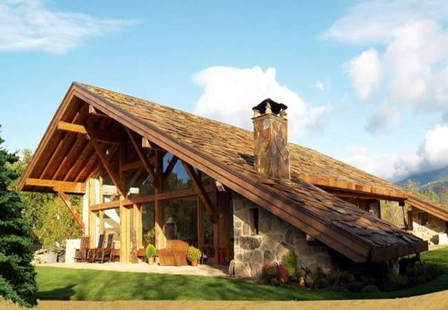 M s de 25 ideas fant sticas sobre planos de casas de - Ver chimeneas rusticas ...