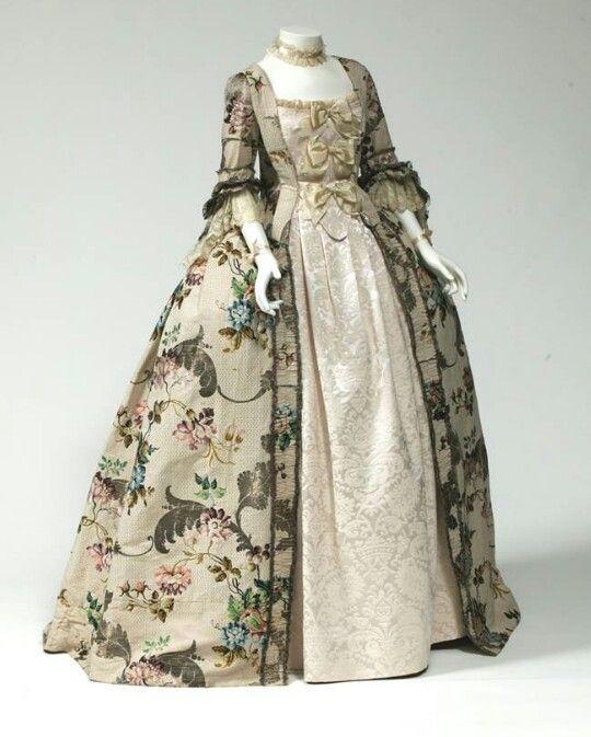 Ca. 1760 Dress