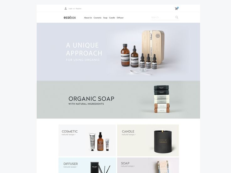 Ecobox Website Design
