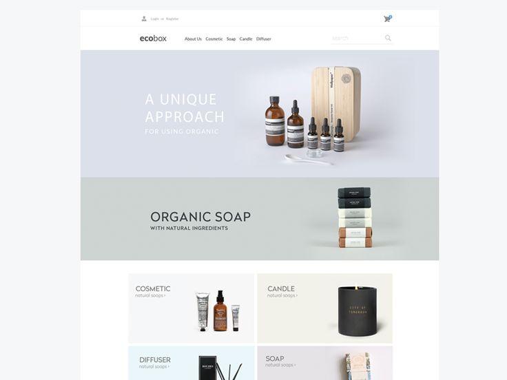 Ecobox Website Design