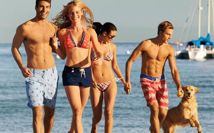 Take in Summer with Sperry Top Sider Swimwear