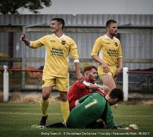 Selby Town 0 - 3 Pontefract Collieries | Friendly | 15Jul17 https://www.flickr.com/photos/cliffefc/sets/72157686248586156 via cliffefc.com