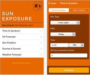 Wolfram Sun Exposure (iOS)