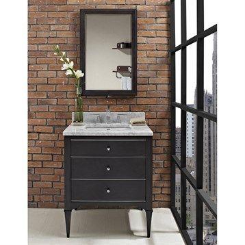"Fairmont Designs Charlottesville 30"" Vanity - Vintage Black | Free Shipping"