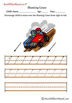tracing worksheets for preschool