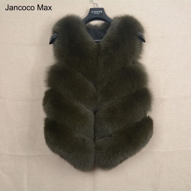 >> Click to Buy << 2017 New Women Fur Vest Real Soft Thick Fox Fur Waistcoat Lady Winter Genuine Fashion Gilet Coat Wholesale / Retail S1677 #Affiliate