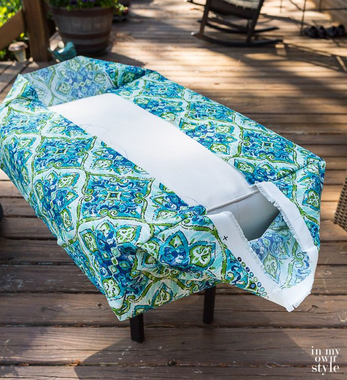 Easy Ways To Make Indoor And Outdoor Chair Cushion Covers Diy Chair Cushions Outdoor Chair Cushion Covers Chair Cushion Covers