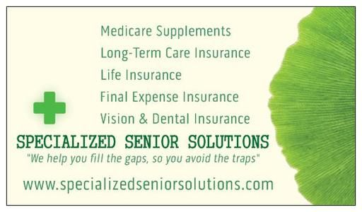 1-800-841-0516, Cheap Medicare Supplements, Cheap Prescription Drug Plans in Tupelo, Mississippi. Affordable Medicare Supplements, Affordable Prescription Drug Plans in Tupelo, Mississippi. Low Priced Medicare Supplements, Low Priced Prescription Drug Plans in the Tupelo, Mississippi area, Low Monthly Payments on Medicare Supplements and Prescription Drug Plans, Specialized Senior Solutions assists you with all of your Medicare Supplements, and Prescription Drug Plans at the most affordable…