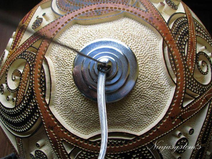 Gourd lamp by Ninjasystem,s