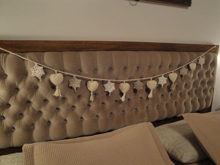 M viles para respaldo de cama a medida crochet hecho con - Respaldos para camas ...