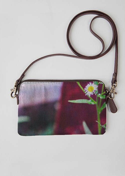 VIDA Statement Clutch - rustic coastal flower by VIDA G4TJ5
