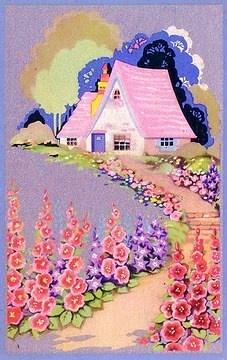 Vintage Storybook Cottage