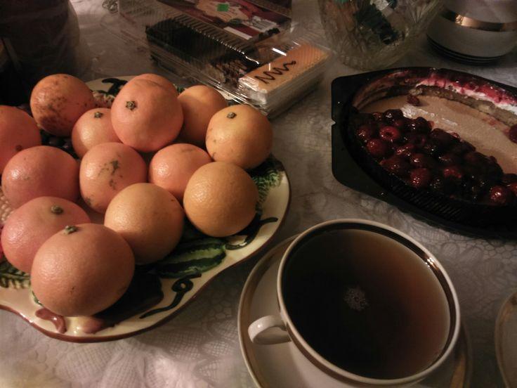 #мандарины #чай
