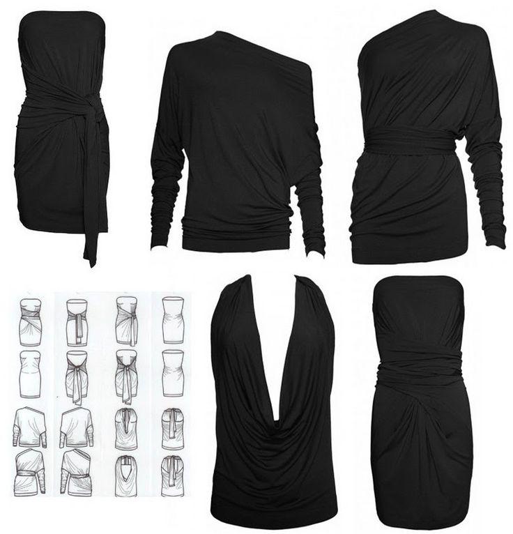 Let me introduce you: de Supertrash Thousandways multi-dress! Wat mij betreft een echte musthave. Met dit zwarte jurkje van Supertrash kun je alle kanten mee op, je kunt het maarliefst op 8 verschillende manieren dragen. Als strapless jurkje, one shoulder top of tuniek: voor iedere gelegenheid is er wel een manier die er bij past.