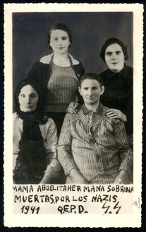 Lithuania, Four generations of women who were murdered August 1941.
