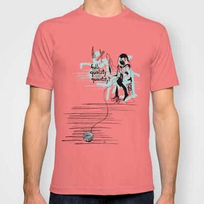 Τhe thread of life T-shirt by Evgenia Drouga - $18.00