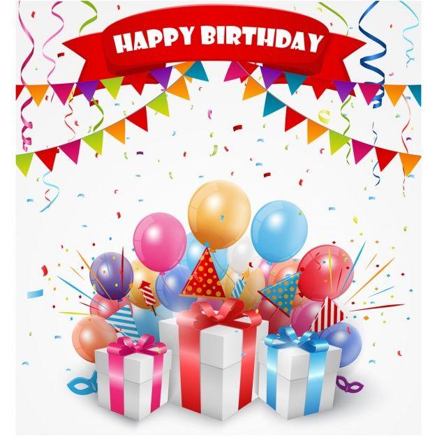 дизайн День рождения фон Premium векторы