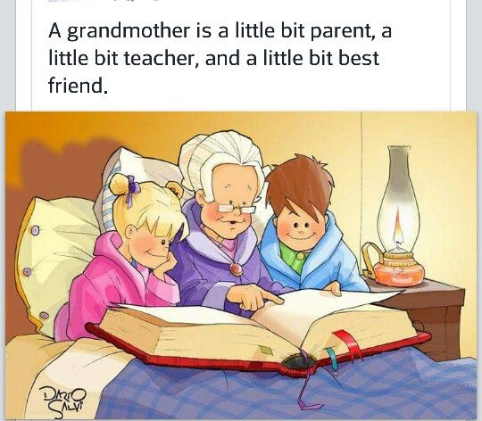Being a grandmother is the best thing that ever happened to me ❤