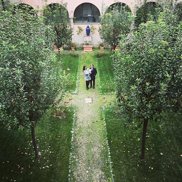 Giardini meravigliosi in centro città #lamiatorino #torino