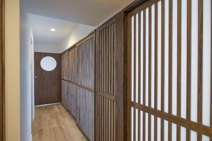 50代の夫婦のための名古屋市内67.70㎡の典型的な3LDK築30年の中古マンションリノベーション案です。自然素材を使い、部屋全体が明るくなるように工夫しました。