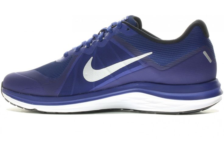 Nike Dual Fusion X 2 M pas cher - Chaussures homme running Route en promo