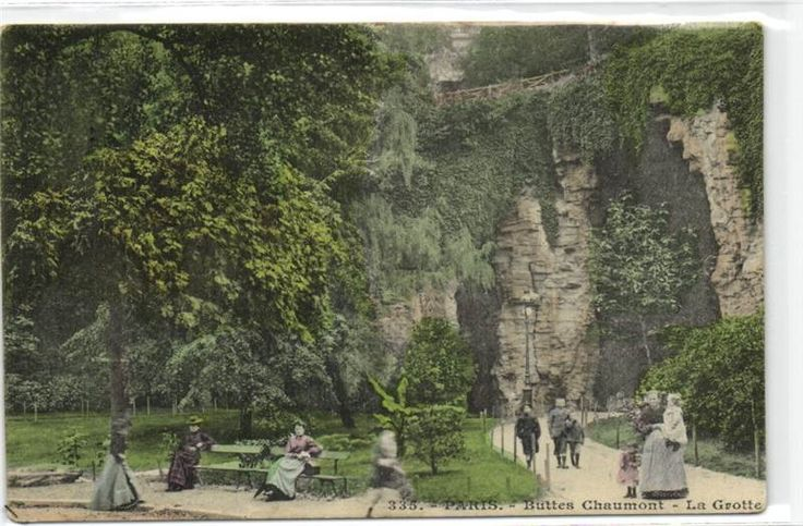 urbitrend-collectables - 1 carte postale France DEP 75 Paris District 19 Buttes Chaumont La Grotte, €1.99