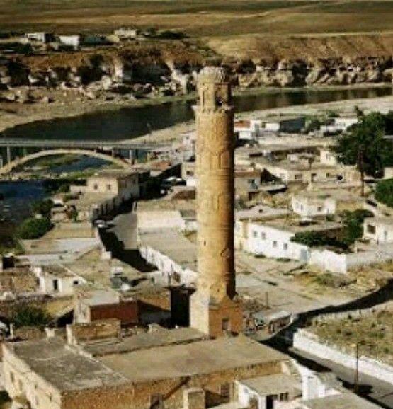 El-Rızk mosque-Constructive: Eyyubi sultanı Süleyman-Year built: 409-Hasankeyf-Batman