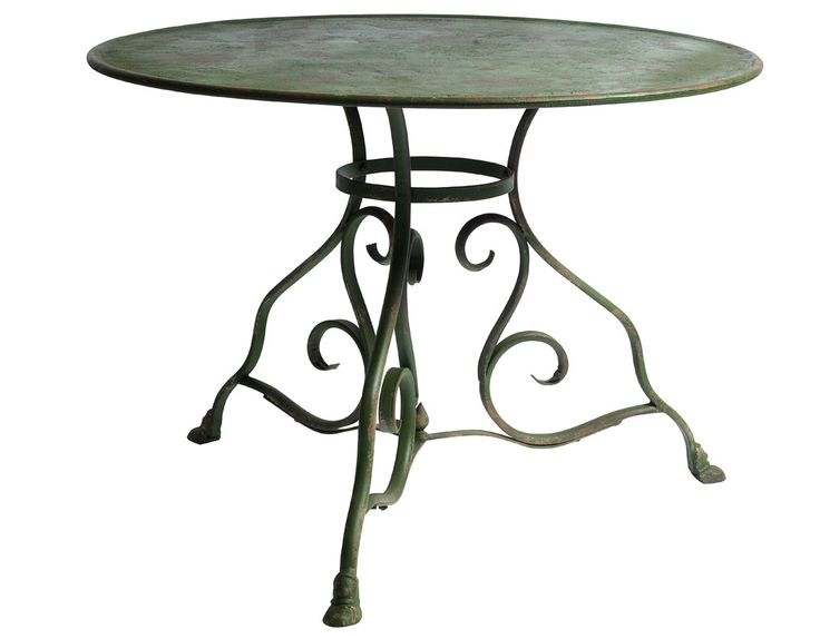 Iron Table, Green.