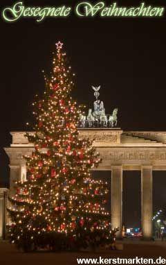 Gezegende Kerstdagen in Berlijn