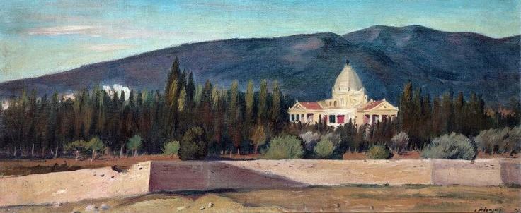 Γιάννης Μόραλης, 1941, Κηφισιά, Βίλα Καζούλη