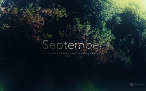 25 Desktop Wallpaper Calendar: September 2012