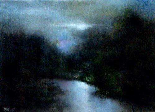 Bob Kimball oil painting