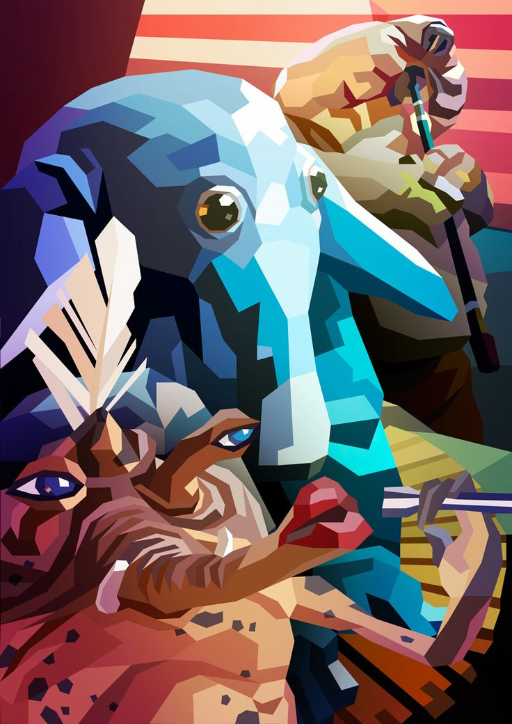 Star Draws (Sy Snootles and The Max Rebo Band) by Liam Brazier