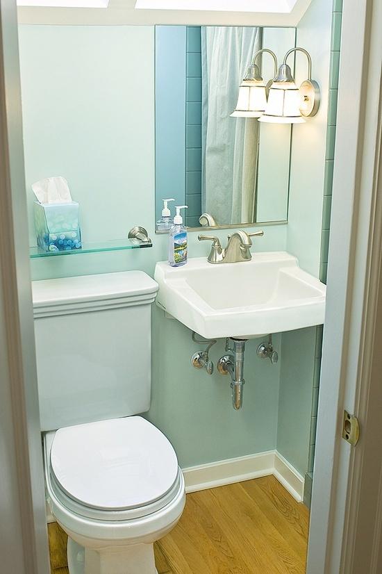 Half bath home decor ideas ispiration small bathroom - Tiny half bathroom ideas ...